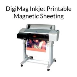 DigiMag Inkjet Printable Magnetic Sheeting