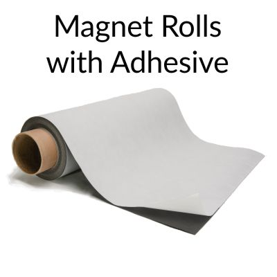 Magnet Rolls with Adhesive