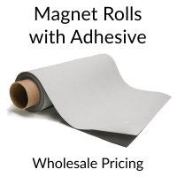 Magnet Rolls with Indoor Adhesive Bulk Pricing