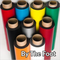 Colored Vinyl Magnet Rolls - By the Foot
