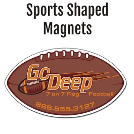 Sports Shaped Magnets