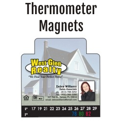 Thermometer Magnets