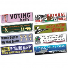 Custom Magnetic Bumper Stickers Includes FREE SHIPPING Custom - Custom car magnet bumper stickers