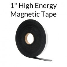 "High Energy Magnetic Tape w/ Outdoor Adhesive 1"" x 100'"