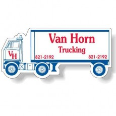 "Custom Semi Truck Shaped Magnets - 4.125"" x 1.875"""