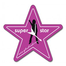"Custom Star Shaped Magnets 3"" x 3.125"""