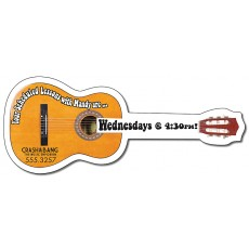 "Custom Acoustic Guitar Magnets 5"" x 2"""