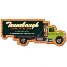 "Custom Trash/Recycle Truck Shaped Magnets - 5"" x 2.0625"""