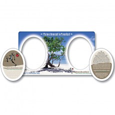 """7"""" x 4"""" Picture Frame Magnet w/ Double Punch"""