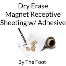 Dry Erase Magnet Receptive Sheet Rolls w/ Adhesive