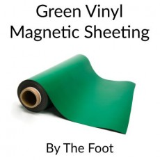 Green Vinyl Magnetic Sheeting - By the Foot
