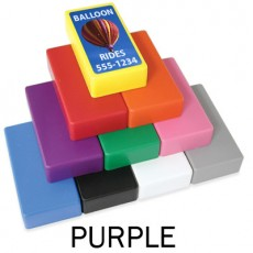 "1"" x 2"" Purple Strong Block Magnets"