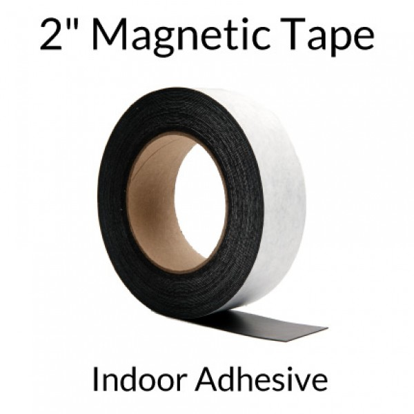 """2"""" Magnetic Tape with Indoor Adhesive"""
