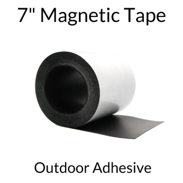"""7"""" Magnetic Tape with Outdoor Adhesive"""