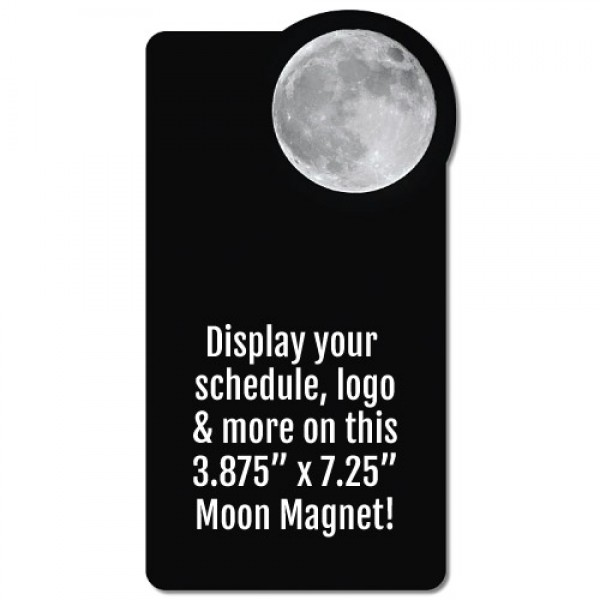"Moon Rectangle Magnet - 3.875"" x 7.25"""
