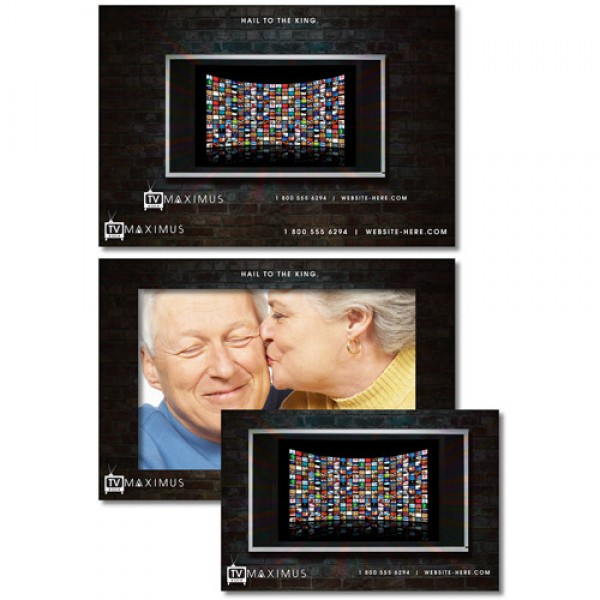 "7.375"" x 5"" Custom Picture Frame Magnet"