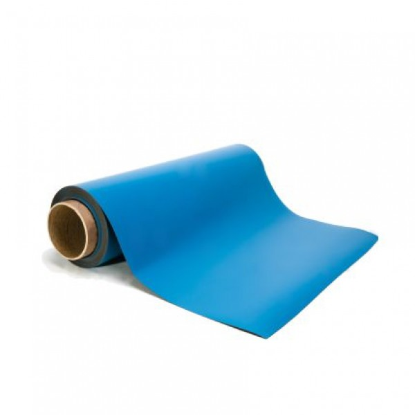 Blue Magnetic Sheeting - By the Foot