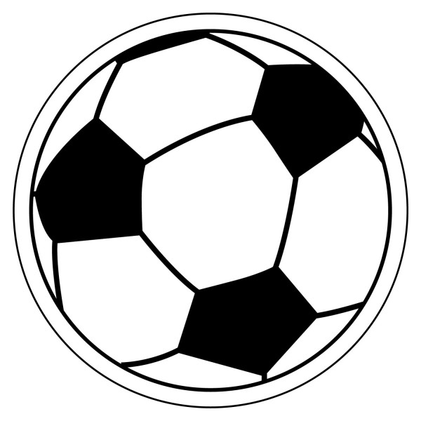 "Custom Soccer Ball Shaped Magnets 3"" x 3"""
