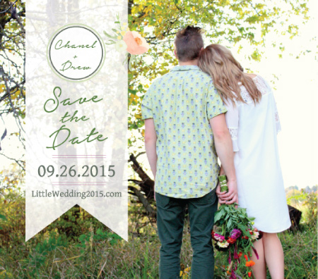 Custom Save the Date Magnet