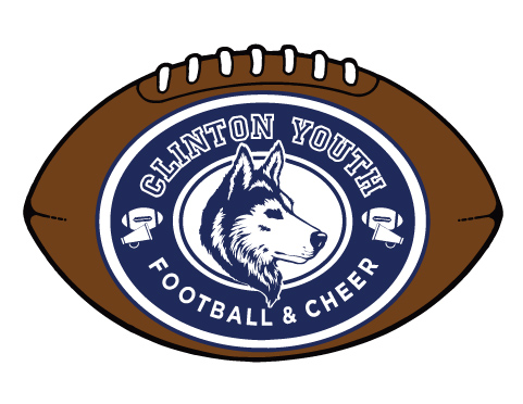 Custom Football Shaped Magnet