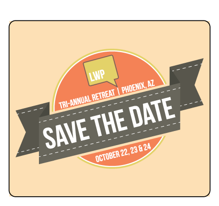 Lawyers with Purpose Save the Date Magnet