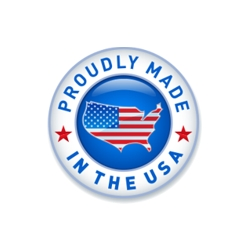 Our Products Are Proudly Made in the USA!