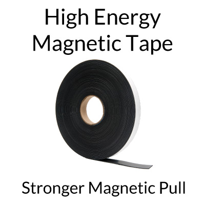 Extra Strong Magnet Tape Rolls with Adhesive