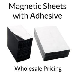 Magnetic Sheets with Adhesive Wholesale