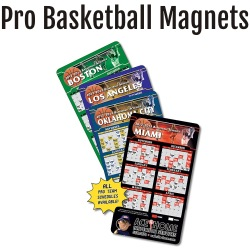 Pro Basketball Team Schedule Magnets
