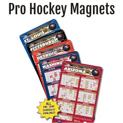 Pro Hockey Team Schedule Magnets