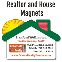 Realtor & House Magnets