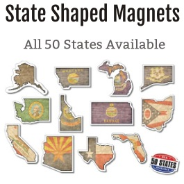 State Shaped Magnets