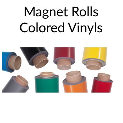 Colored Magnet Rolls