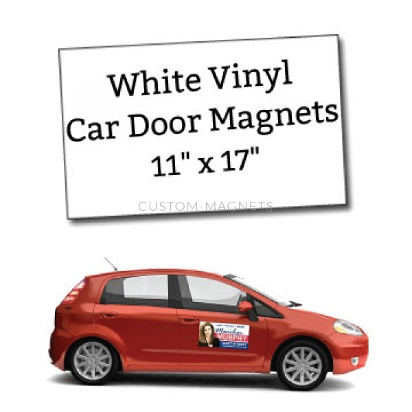 11 x 17 blank car magnets square corners