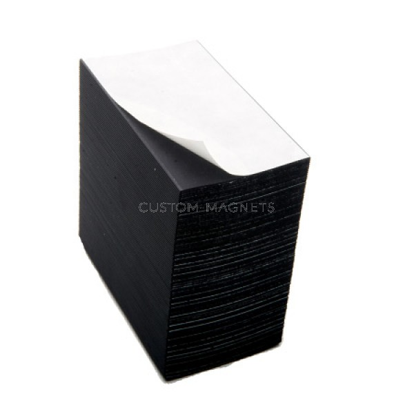 Peel and stick adhesive magnetic business cards custom magnets peel and stick magnets for business cards reheart Images