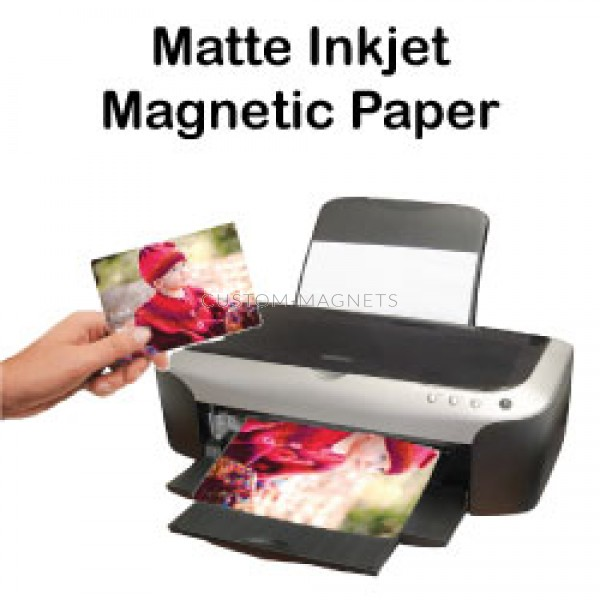 picture about Laser Printable Magnetic Sheets known as Matte Inkjet Printable Magnetic Sheets Custom made-Magnets
