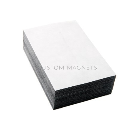 4 Quot X 6 Quot Magnetic Sheets With Adhesive Custom Magnets