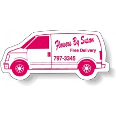 "Custom Van Shaped Magnets - 3.5"" x 1.75"""