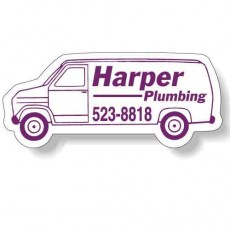 "Custom Van Shaped Magnets - 4.125"" x 1.875"""