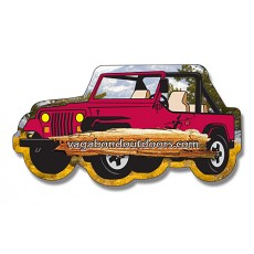 "Custom Jeep Shaped Magnets - 4.25"" x 2.25"""