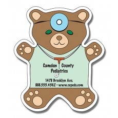 "Teddy Bear Shaped Magnets 4"" x 4.625"""