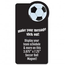 "Soccer Schedule Rectangle Magnet - 3.875"" x 7.25"""