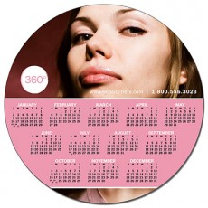 """6"""" Circle Magnets Custom Printed With Your Artwork"""