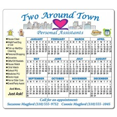 "6"" x 6.75"" Magnets - Rounded Corners -  Personalized With Your Artwork"