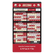 "Arizona Diamondbacks Baseball Team Schedule Magnets 4"" x 7"""