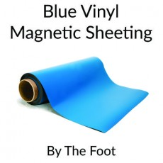 Blue Vinyl Magnetic Sheeting - By the Foot