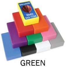 "1"" x 2"" Green Strong Block Magnets"