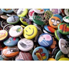 "Custom Button Magnets - 1"" Round"
