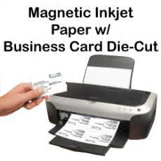 Inkjet Magnetic Business Card Sheets