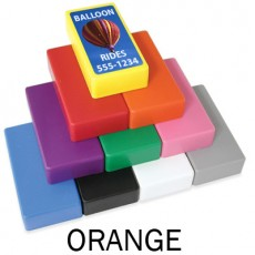 "1"" x 2"" Orange Strong Block Magnets"